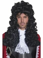 Pirate Captain Fancy Dress WIG Black Curly- Great for Hook Fancy Dress Costume