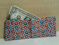 VEGAN Hand Made DUCK TAPE WALLET ( MONKEY ) Design - COLORFUL