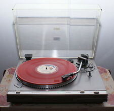 Platine vinyle vintage  HITACHI HT-356  semi-automatique Direct Drive Quartz
