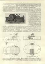 1915 Papermaking Hollander Beating Engine Hydraulic Plates