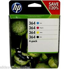 Set of 4 Original Genuine HP 364 Ink Cartridges For Photosmart 5510 Printer