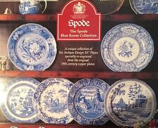 Spode BLUE ROOM Collection Set of 6 Dinner Size Collector Patterns New & Lovely!