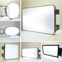 1 Blank Pureimage Rectangular or Round Projecting Outdoor Light Box of Sign Shop