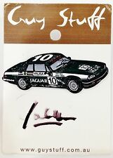 1985 BATHURST WINNER JAGUAR CAR PERSONALLY SIGNED JOHN GOSS PIN COLLECT