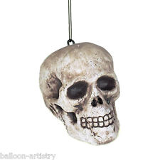 4 Halloween Horror Hanging Human Skulls Party Decorations