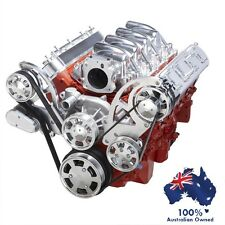 GM HOLDEN CHEVY LS1,2,3 & 6 ENGINE SERPENTINE KIT -  ALTERNATOR & POWER STEERING
