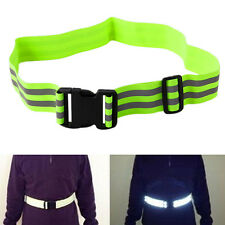 High Visibility Reflective Security Belt Safety Running Jogging Walking Biking
