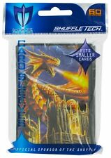 60 DECK PROTECTOR SLEEVES / PROTEGGI CARTE Mini per Yu-Gi-Oh! DRAGON FURY