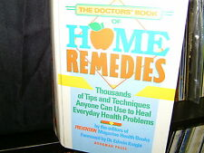 The Doctors' Book of Home Remedies -  Prevention Magazine Heallth Books - HC