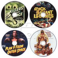 Horror Sci-Fi Movie DVD Collection: Plan 9, Killers from Space, Bee Girls, Giant