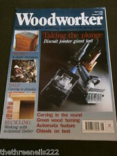 WOODWORKER - GREEN WOOD TURNING - AUG 1995