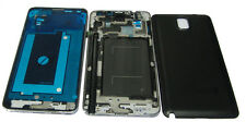 Samsung Galaxy Note 3 III N9000 Fascia Housing Back Battery Cover Bezel Black UK