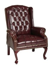 Office Star Traditional Queen Anne Style Chair. TEX234-JT4 Chair NEW