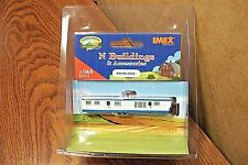 IMEX N SCALE 1958 GREAT LAKES TRAILER BUILT-UP BUILDING