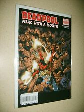 Deadpool Merc With A Mouth #1 2nd print variant HTF Near Mint Movie