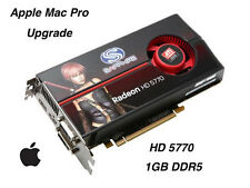Apple Mac Pro ATI RADEON HD 5770 1GB GDDR5 Graphics Card Upgrade.