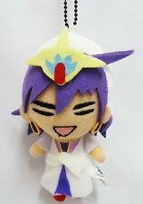 RARE Magi labyrinth of magic Mini Plush Strap Sinbad Cosplay Japan Anime