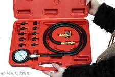 Engine Oil Pressure Test Kit Tester Low Oil Warning Devices Car Garage Tool Set