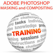 Adobe PHOTOSHOP MASKING and COMPOSITING Part 2 - Video Training Tutorial DVD