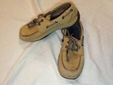SPERRY SHOES TOP SIDER INTREPID YOUTH 2M BROWN BOAT SHOES~BOYS OR GIRLS~CHEAP
