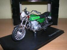 Norev Kawasaki 750H2  / 750 H2 Modell 1972 grün green 1:18 Motorrad Motorbike