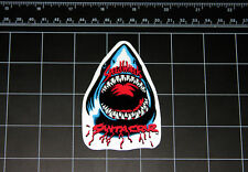 Santa Cruz SpeedWheels Great White Shark skateboard decal 80s sticker skate