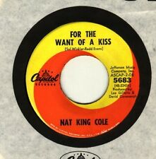 Nat King Cole - For the want of a kiss  - GUARANTEED ORIGINAL - NEW OLD STOCK