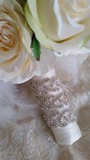 Marilyn bouquet fleur cristal Wrap Robe vintage perles de cristal strass