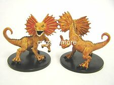 Pathfinder Battles - #028 Giant Frilled Lizard Large Figure The Lost Coast - D&D