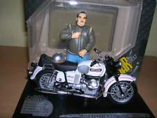 Solido Moto Guzzi V 7 Special mit Figur Joe Bar Team 1971,  1:18 Motorrad Moto