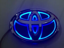 5D LED Car Logo Blue Light for Toyota Highlander Prado Vigo Rav Auto Badge Light