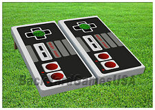 CORNHOLE BEANBAG TOSS GAME w Bags Game Boards Nintendo Set 1102