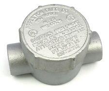 """Appleton GRJC75 Conduit Outlet Box 3/4"""" Mall Iron Feed-Thru"""