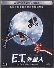 E.T. The Extra-Terrestrial - Anniversary Edition TAIWAN BLU RAY + SLIPCOVER