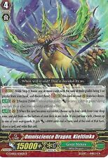 CARDFIGHT VANGUARD CARD: OMNISCIENCE DRAGON, KIELTIMKA - G-CHB02/036EN R RARE