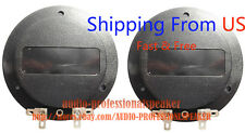 2pcs Diaphragm for Eminence, Yamaha, Carvin, Sonic, Drivers PSD2002-8 FROM US