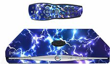 Blue Electric Sticker/Skin SKY HD BOX & Remote controller/controll sk27
