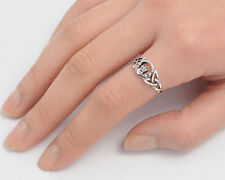 USA Seller Celtic Claddagh Ring Sterling Silver 925 Best Deal Jewelry Size 3