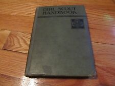1934 GIRL SCOUT HANDBOOK 2ND IMPRESSION ILLUSTRATED HARDCOVER