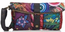 DESIGUAL Bolso Clutch Diverdelik. Bag - Sac - Tasche - New.