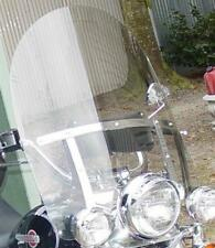 """HD FLSTC HERITAGE SOFTAIL CLASSIC 1986-1999 15"""" x 23"""" CLEAR REPLACEMENT SHIELD"""