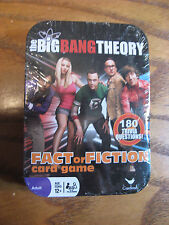 The Big Bang Theory Fact or Fiction Trivia Card Game in Collectible Tin - 2015