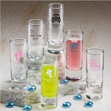50 Personalized 2 oz Ounce Shooters Shot Glasses Wedding Party Shooter Favor