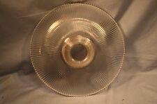 Vintage 1905 Halophane Pagoda Glass Shade Ceiling Light Lamp Fixture 11.5 Wide