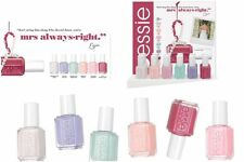Essie Nail Polish Lacquers Bridal Collection 2016 Mrs Always-right Set Of 6