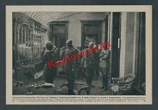 30 Jahre Wilhelm II. Hauptquartier GHQ Hotel Britannique Oberst Max Bauer 1918