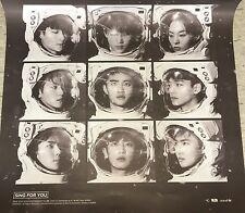 Exo Sing for you official poster kpop music with Hard Tube Case