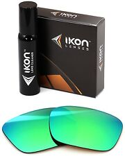 Polarized IKON Replacement Lenses For Von Zipper Fulton Sunglasses Green Mirror