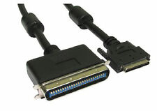 2m External SCSI Cable 1-5 50 Centronic 50 pin Male to VHDCI 5 68 Pin Ultra Male