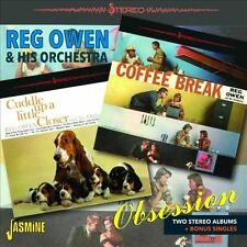 Obsession: Two Stereo Albums + Bonus Singles by Reg Owen & His Orchestra (CD,...